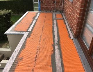 Rénovation d'une terrasse balcon partie 3