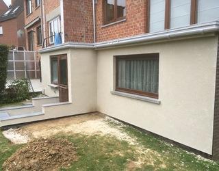 Rénovation d'une terrasse balcon partie 5