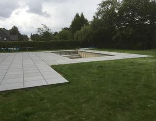 Pierre en Granit pour une piscine & Terrasse